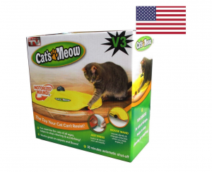 Cat's Meow an interactive cat toy