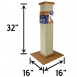 Product Guide to Sisal Scratching Posts - teh Smartcat Ultimate scratching post