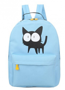 cool back to school backpacks. Preppy style cute cat backpack