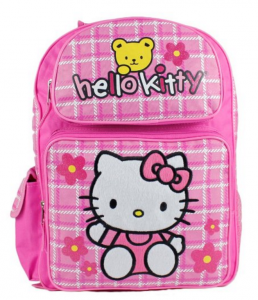 Cool Backpacks for back to school. The Hello Kitty Pink Bear Backpack