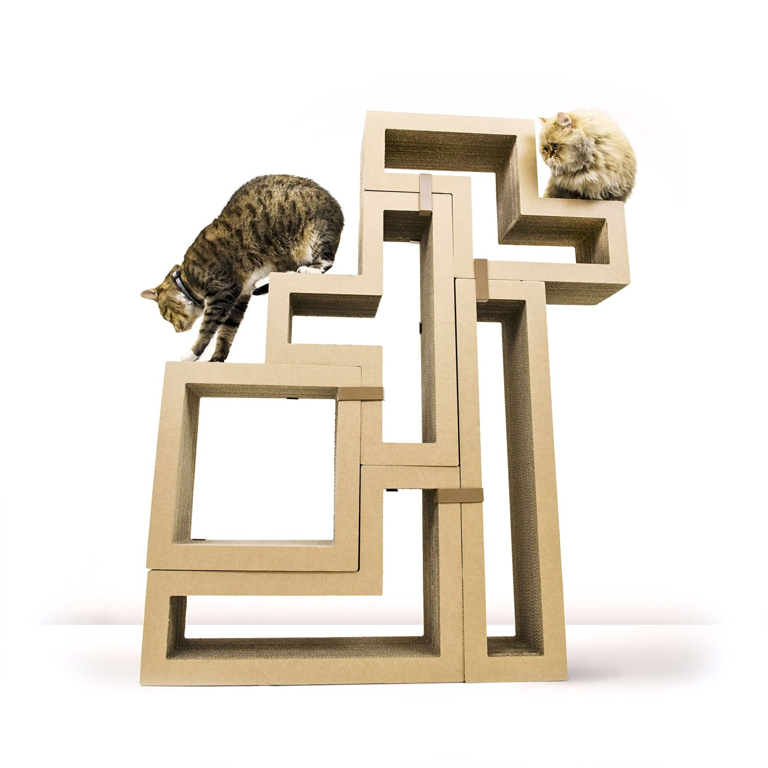 Katris modular cat tree building blocks