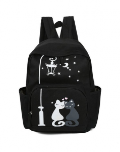 Back to School Backpacks for cat lovers - cute cat backpack