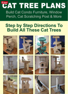 DIY cat furniture. Plans to make your own cat tree