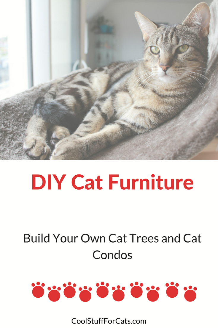 Best cat tree plans for building diy cat furniture cool for Build a cat perch