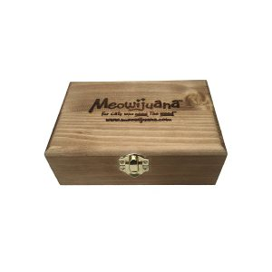 Meowijuana Cigar Box of Organic Catnip Buds
