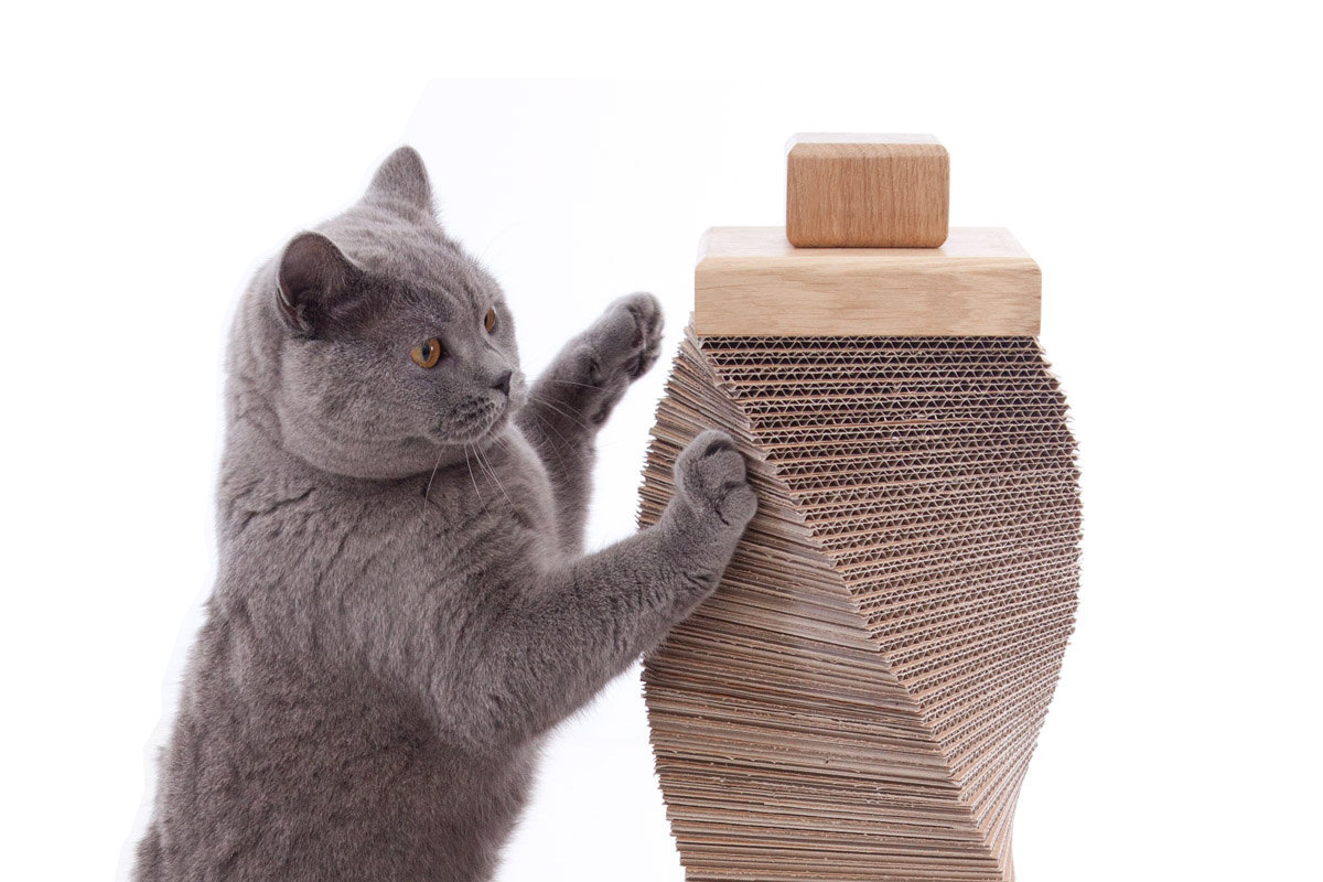 Cat Fabric Scratching Post