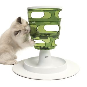 CatIt Senses 2.0 Food Tree helps to slow cats eating habits