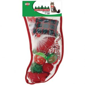 spot holiday cat christmas stocking