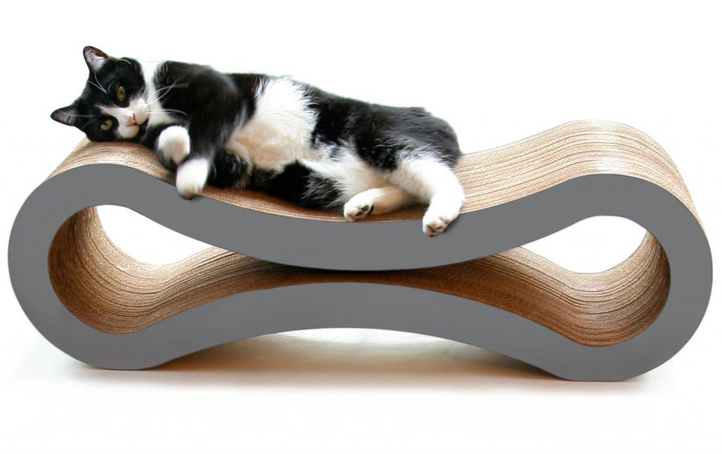 PetFusion Cat Scratcher Lounge - Cardboard cat scratcher