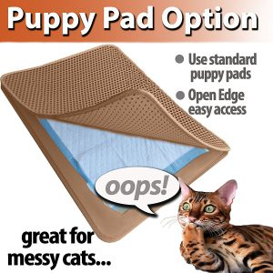 IPrimio cat litter trapper for messy cats