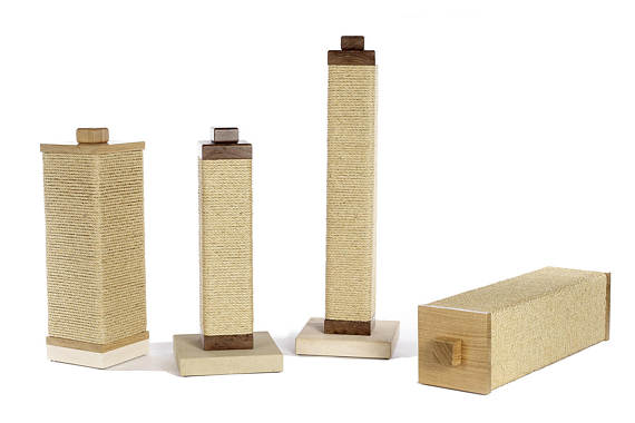 charley and billie sisal cat scratching posts range