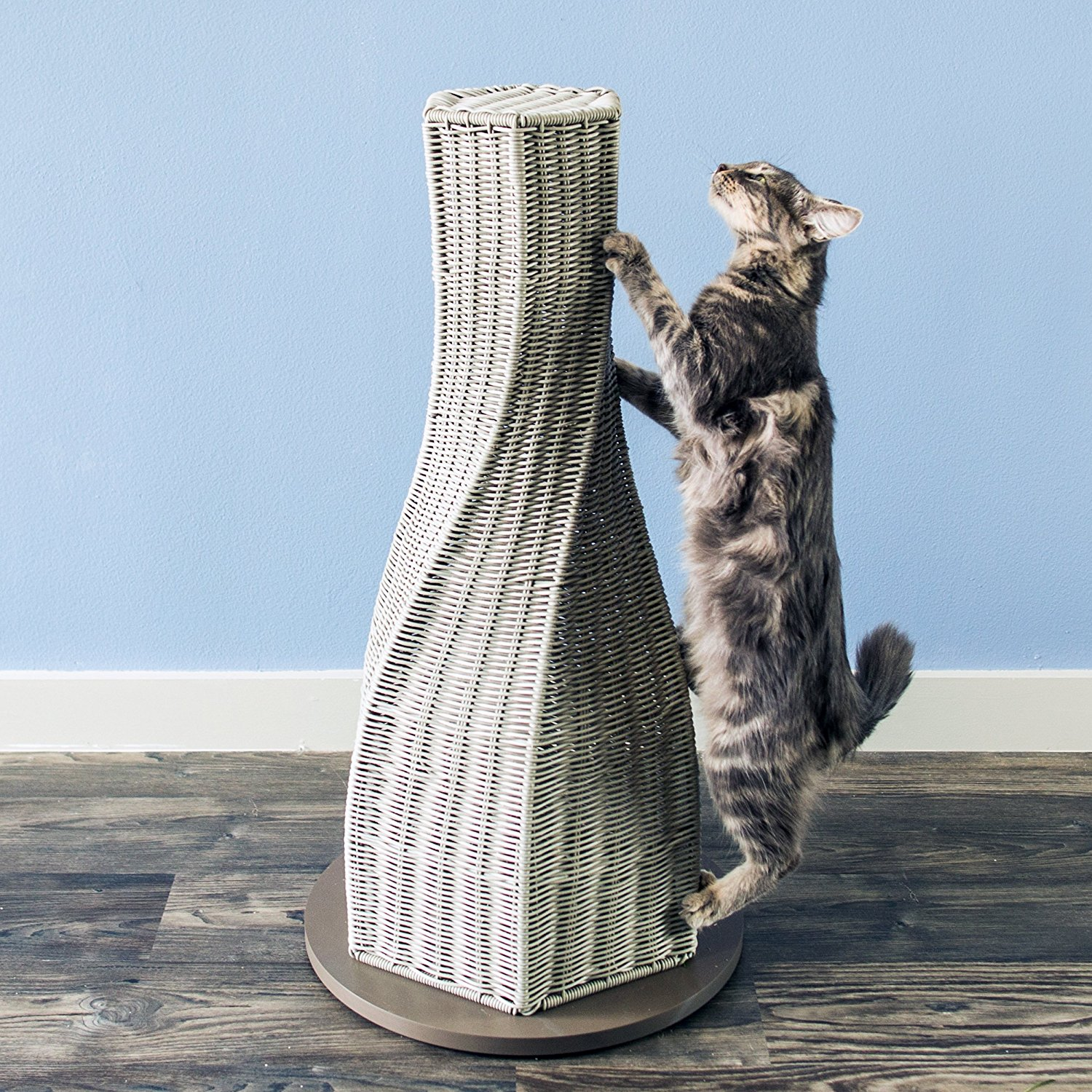 refined feline calypso cat scratcher smoke