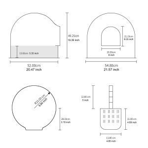 pidan igloo sizing