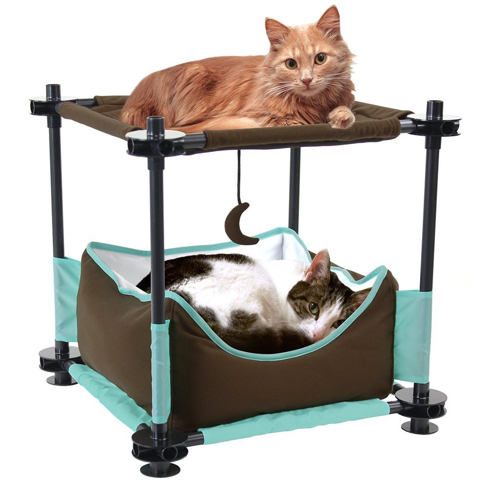 Kitty city steel claw sleeper cat condo
