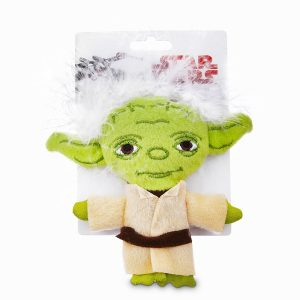 star wars yoda cat toy