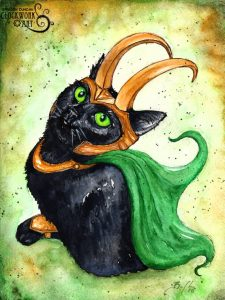 Loki Kitten Clockwork Art