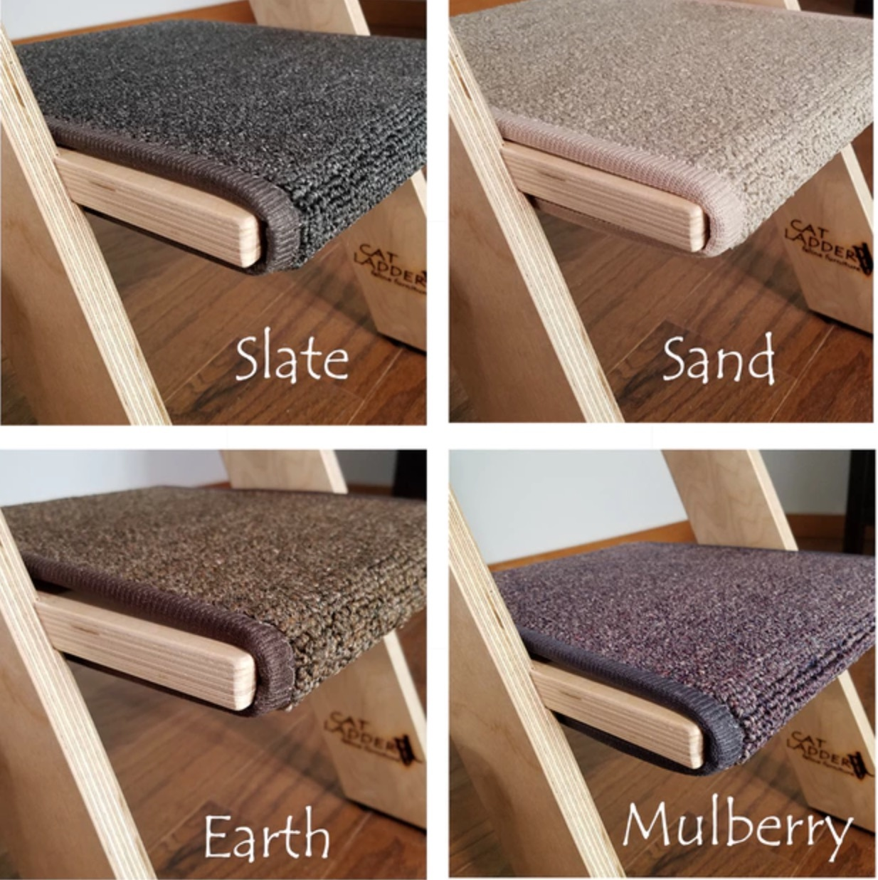 carpet colors for birch cat ladders
