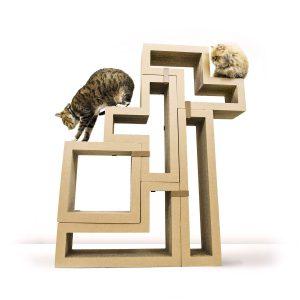 Katris modular cat tree building blocks
