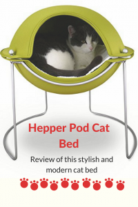 hepper pod cat bed - a stylish and modern pet bed