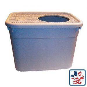 Clevercat Top Entry Litterbox - Cool Stuff for Cats Product guide to cat litter box furniture and top entry litterboxes